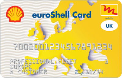 euroShell Multi fuel card